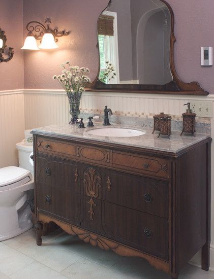 17 Best ideas about Dresser Bathroom Vanities on Pinterest