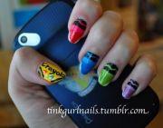 crayola-nails-school-classroom-crayons-design-cute-easy-nail-design-fun-color-manicure