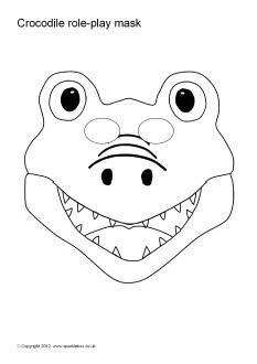 12 best Crocodile mask images on Pinterest