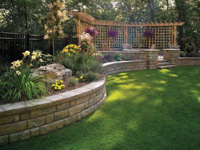 The 25 Best Ideas About Sloped Backyard On Pinterest Sloping