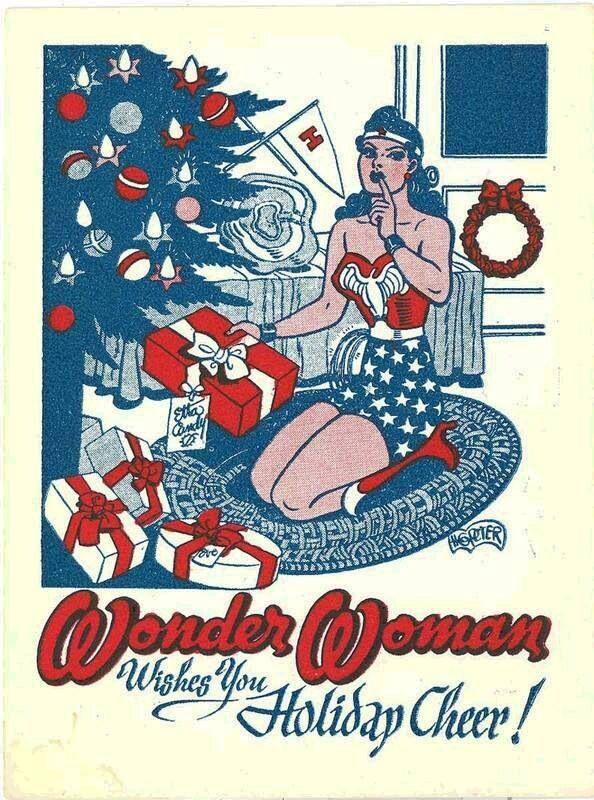 Merry Christmas Wonder Woman Pinterest Merry