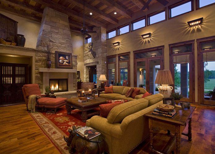 Texas Hill Country Decor Gabriel Falls Tuscan Concrete Hillside House Sam Bass Road House