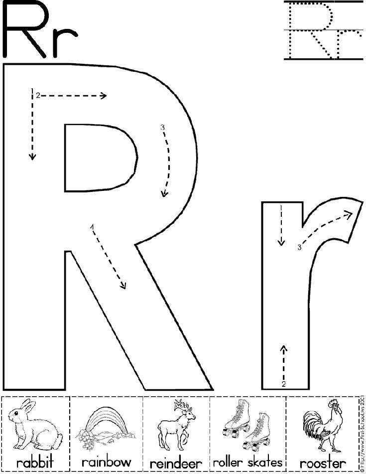 17 Best images about Letter R Worksheets on Pinterest
