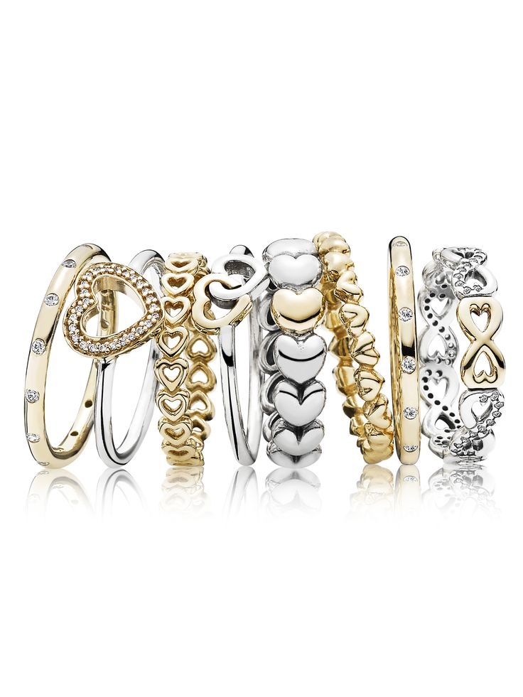 25 best ideas about Pandora rings stacked on Pinterest  Pandora rings Pandora silver rings