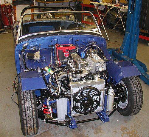 Austin Healy Bugeye Bug Eye Sprite Diagram Parts Manual For Sale