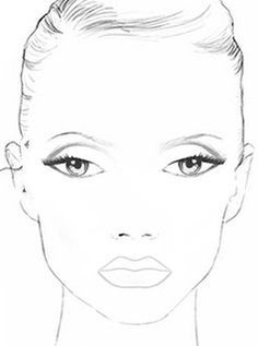 Charts, Makeup and Face charts on Pinterest
