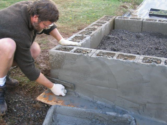 besser brick raised garden beds - boisholz,