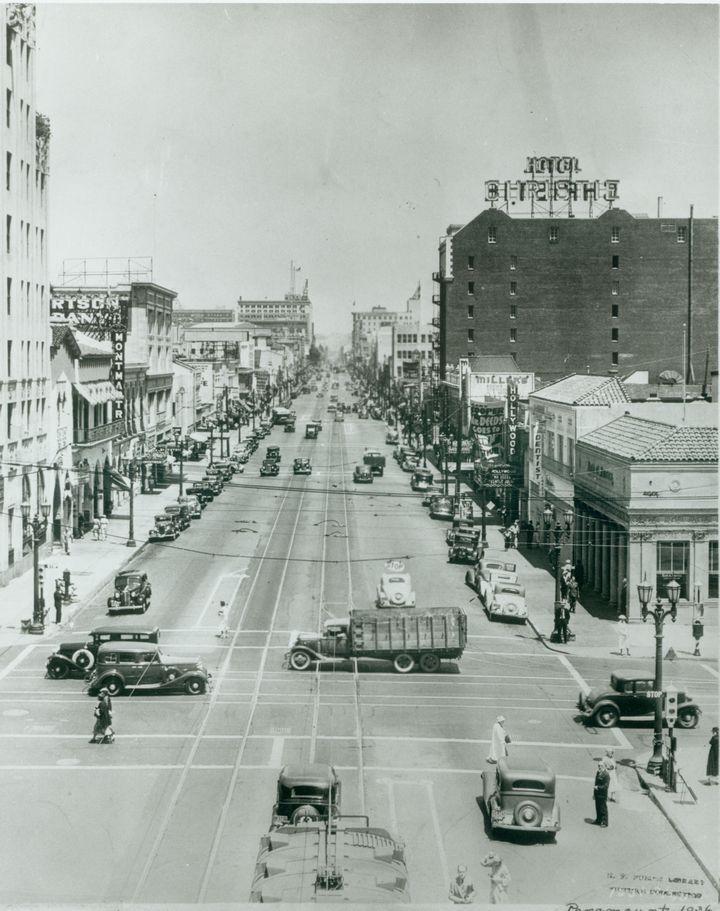 1936 Hollywood Blvd  Highland Ave  Hollywood Boulevard