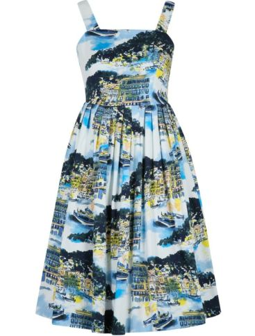 Seaside Print Dress £20 from George