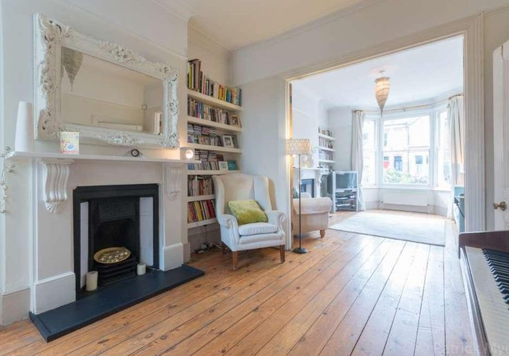 Victorian terrace knocked through rooms wooden