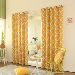 Yellow Curtain Panel BestCurtains