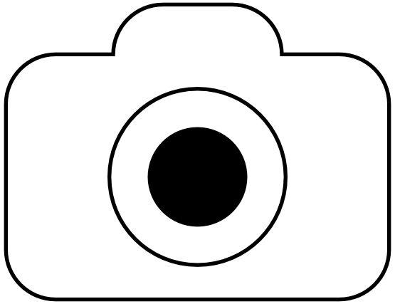 Fotocamera Foto Camera Icon Black White Line Art Coloring