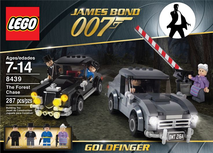 LEGO SET 8439 James Bond 007 Goldfinger LEGO IN THE NEWS Pinterest Lego Awesome And The