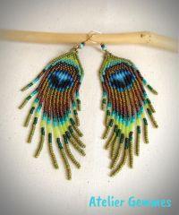 Best 25+ Seed bead earrings ideas on Pinterest | Beaded ...
