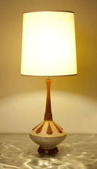 Stunning Mid Century Modern GENIE BOTTLE Table Lamp with