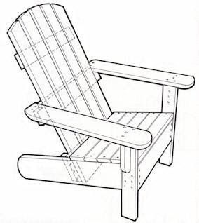1000+ ideas about Adirondack Chair Plans on Pinterest