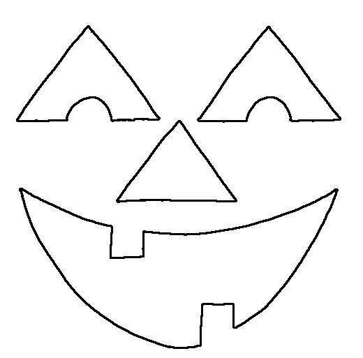 25+ best ideas about Pumpkin Face Templates on Pinterest