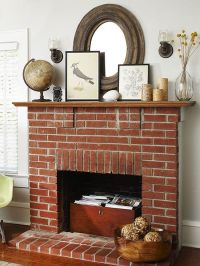 Best 25+ Red brick fireplaces ideas on Pinterest | Brick ...