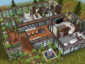 sims freeplay houses designs plans floor level modern simsfreeplay mansion homes cool play case dream plan casas simple pets sim