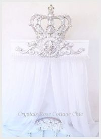 Silver Lux Bed Crown Teester Canopy | Crowns | Pinterest ...