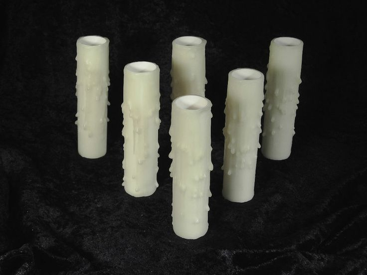 primitive kitchen cabinets thomasville beeswax candle socket covers sleeves set of 6 pcs 4