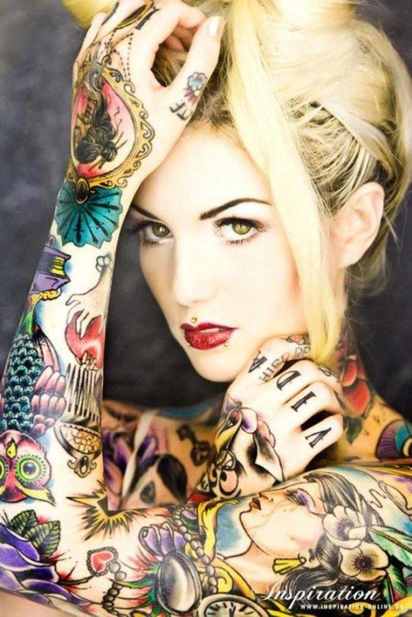 flash tattoos full body color tattoo
