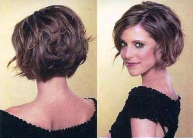 Top 25 ideas about Stacked Bob Short on Pinterest Short
