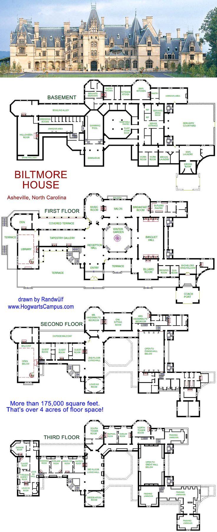 Biltmore floor plan  PLACES IVE BEEN  Pinterest