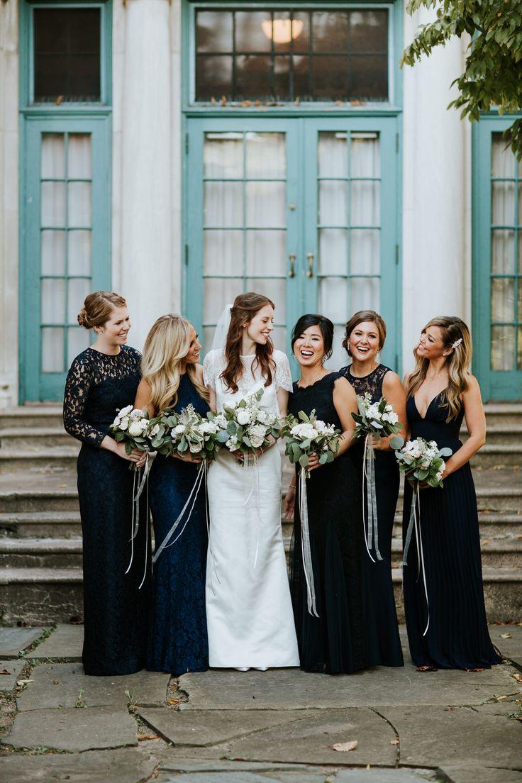 25+ best ideas about Unique Bridesmaid Dresses on