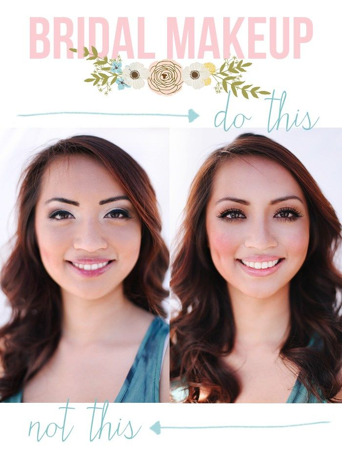 Best 25 Wedding Makeup Tips ideas on Pinterest  Simple