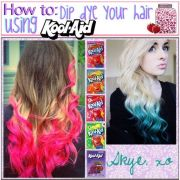 ideas kool aid hair