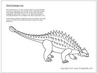 61 best images about Kids-Dinosaur printables, coloring
