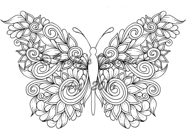 150 best images about Coloring for Grown Ups on Pinterest