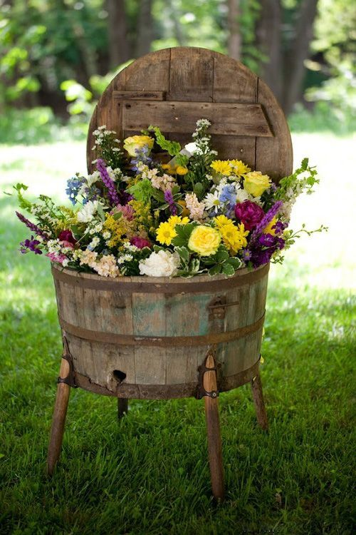 235 Best Images About Decor FLOWERS On Pinterest Gardens