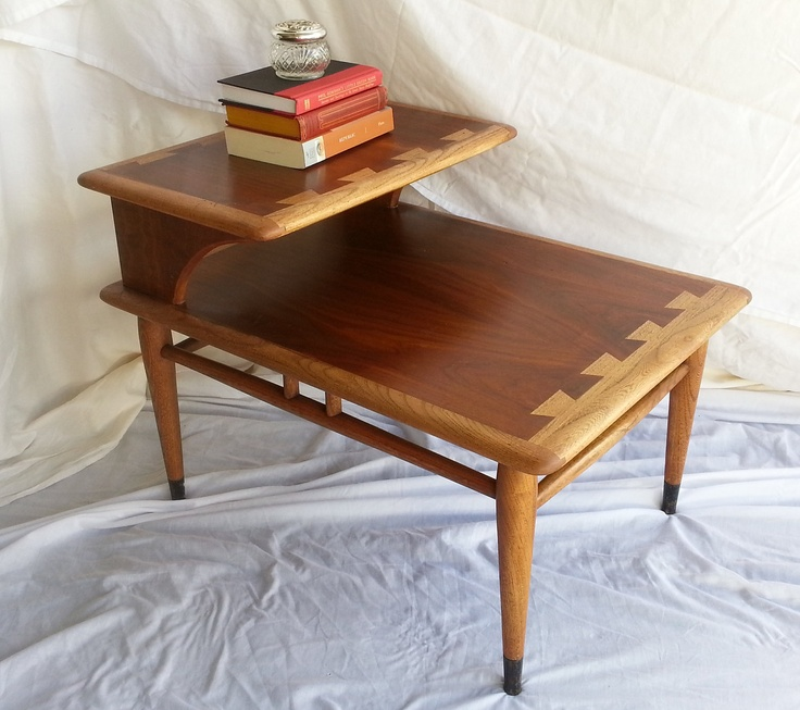 Vintage Mid Century Lane Two Tier  Acclaim Series