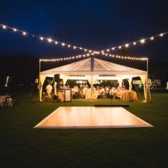 Wedding Decorations Chairs Receptions Small Rocker Recliner Swivel Chair 30x30 Clear Top Tent With Cafe Lights Installed In Straight Lines Inside Of The Tent. ...