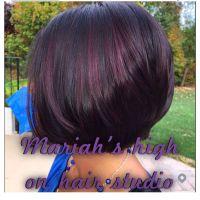 Best 25+ Red violet highlights ideas on Pinterest | Violet ...
