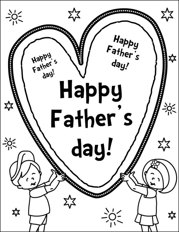 8 best images about Fathers Day Coloring Pages on