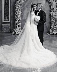 Amal Alamuddin and George Clooney Wedding Dress Photos