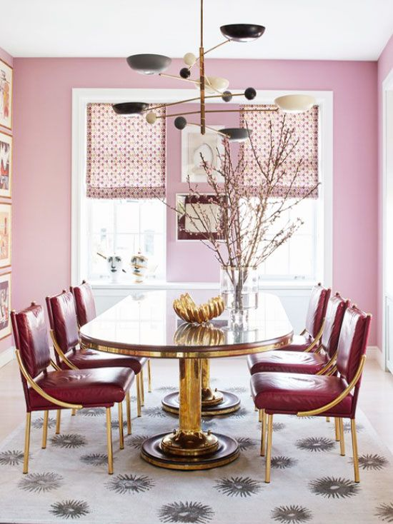 25 best ideas about Gold Dining Rooms on Pinterest  Gold