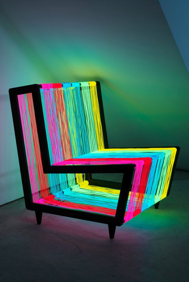Awesome Glow in the Dark Light Up Chair http