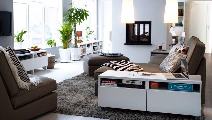 IKEA sterreich Inspiration Wohnzimmer KIVIK Sitzelemente KIVIK Rcamiere und KIVIK Hocker