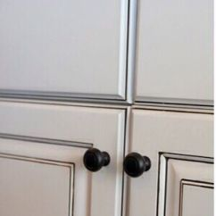 Pinterest Kitchen Remodel Ideas White Table Cabinets Painted Snowbound By Sherwin Williams Then Glazed ...