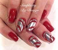 1000+ images about Christmas Nail Art on Pinterest | Merry ...