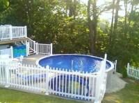 Pool decks, Decks and Above ground pool decks on Pinterest