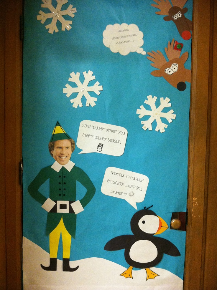 Buddy The Elf Door Decorations