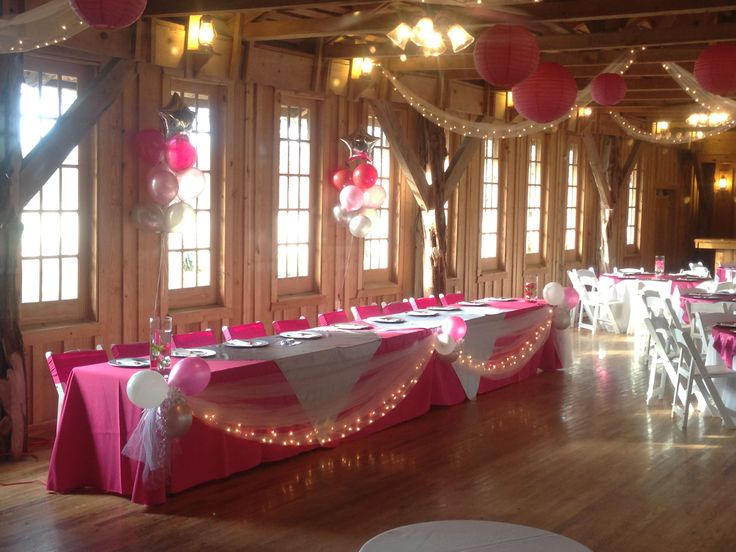 Decorating Ideas For Quinceaneras Tables Elitflat
