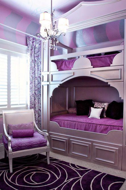 lila kinder schlafzimmer lila schlafzimmer design kid schlafzimmer ... - Schlafzimmer In Lila
