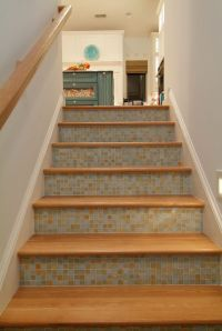 17 Best ideas about Tile On Stairs on Pinterest | Custom ...