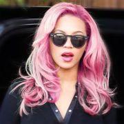 pink hair beyonce face
